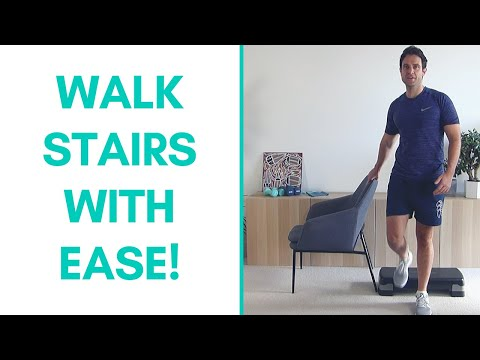 Improve Stair Walking Exercises For Seniors