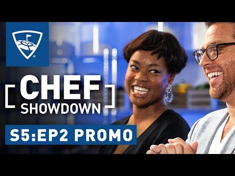 Chef Showdown | Season 5: Episode 2 Promo - Noelle Scaggs's Favorite Music While Cooking | Topgolf