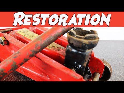 30 Year Old Trolley Jack Restoration