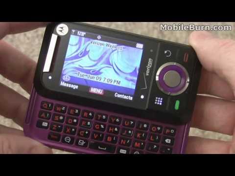 Motorola A455 Rival for Verizon - part 1 of 2