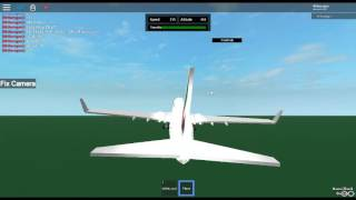 Roblox Emirates Test Flight Boeing 737