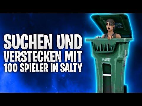 100 SPIELER SUCHEN & VERSTECKEN in SALTY! 🔥 | Fortnite: Battle Royale