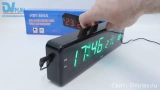 VST 805-S-4 - обзор часов электронных