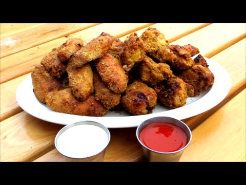 Extra Crispy Chicken Wings - Southern Style Chicken Wings
