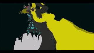 Godzilla vs king ghidorah pivot animation