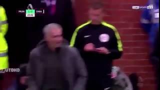 رياضة  مورينيو يسخر من إصابات يونايتد بالإحماء أمام سوانزي