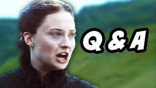 Game Of Thrones Season 5 Episode 3 Q&A - Sansa Stark Grey Wedding WTF