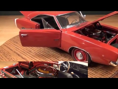 Review 1 18 1968 Dodge Charger Hemi R T By Ertl