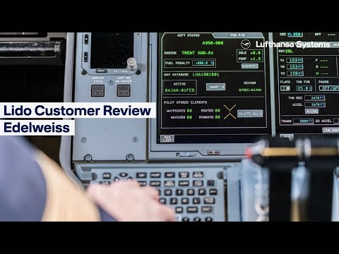Lido Customer Review  Edelweiss  / Lufthansa Systems