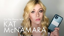 ELLE Goes Through Kat McNamara's Phone: DMs, Selfies, and Crazy Group Chats Revealed!