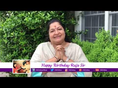 Birthday Wishes to Maestro SriILAIYARAAJA sir l K S Chithra