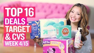 ★ Top 16 Target & CVS Coupon DEALS (Week 4/15 – 4/21)