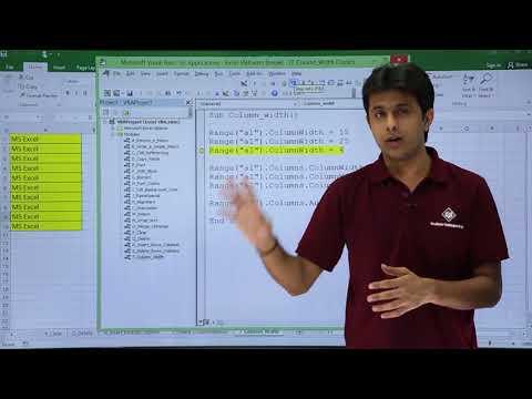 Excel VBA - Column Width