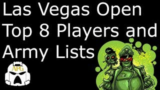 Gambar cover Las Vegas Open Top 8 Players and Army Lists