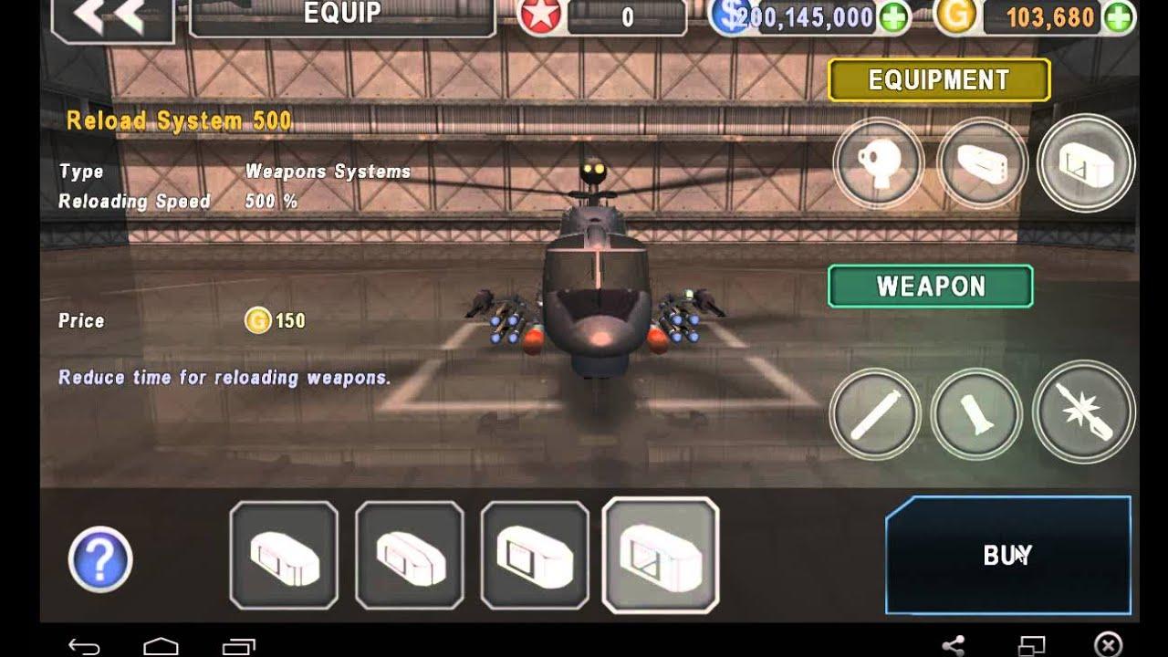 Gunship Battle Helicopter 3D Mod Apk (Unlimited
