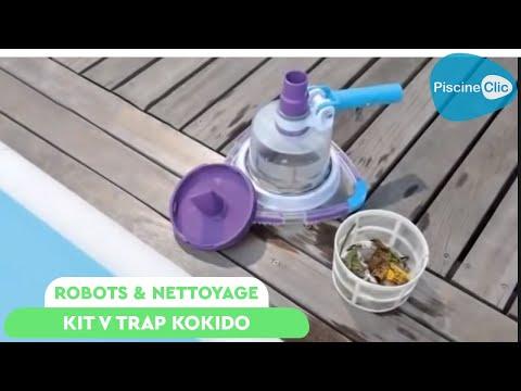 Kit V Trap KOKIDO : Balai manuel pour piscine