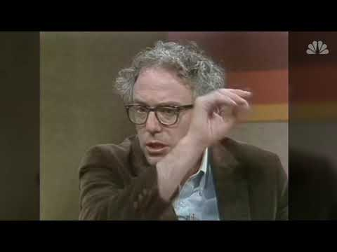 Bernie Sanders on the Today Show 1981