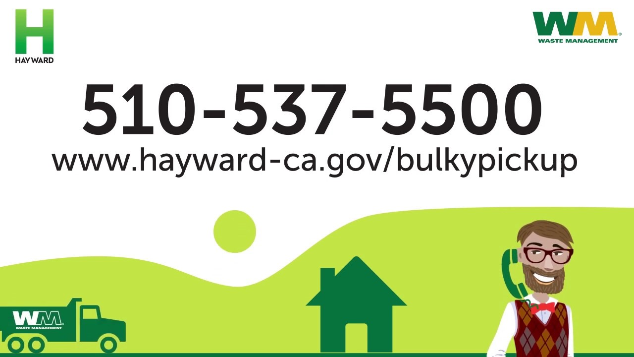Bulky item pickup | City of Hayward - Official website