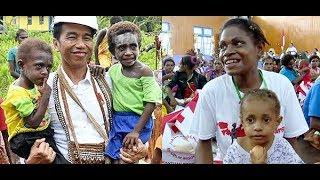 Bikin Merinding & Haru, Kesaksian Rakyat Papua Tentang Presiden Jokowi