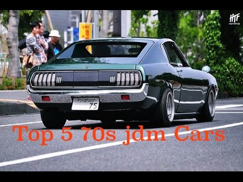 Top 5 70's Jdm Cars