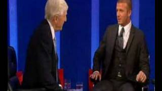 David Beckham Michael Parkinson Talkshow