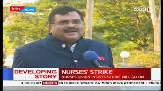 Nurses in 11 counties go on strike