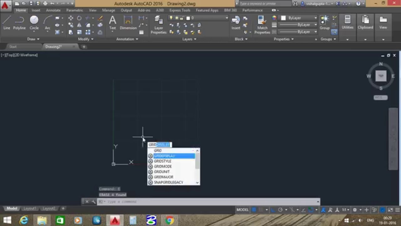 Stop And Go Auto >> How to set limit in autocad - YouTube