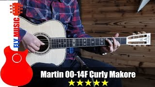 martin 0014f curly makore guitars review