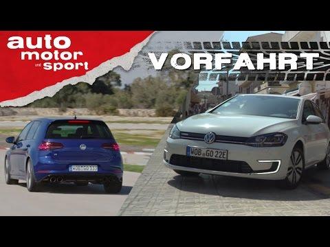 VW Golf R und e-Golf: Neu, aber auch besser? - Vorfahrt   auto motor und sport