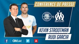 Suivez la conférence de presse de Kevin Strootman et Rudi Garcia #TFCOM