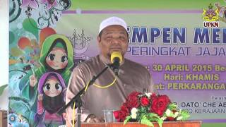 Pelancaran Kempen Menutup Aurat 2015 – Ustaz Saibon Ismail