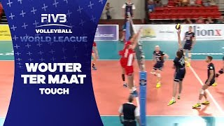 Smart touch from Ter Maat - World League 2017