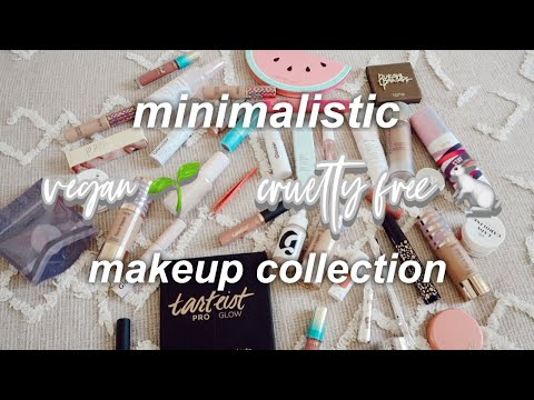 minimalistic vegan + cruelty-free makeup collection thumbnail