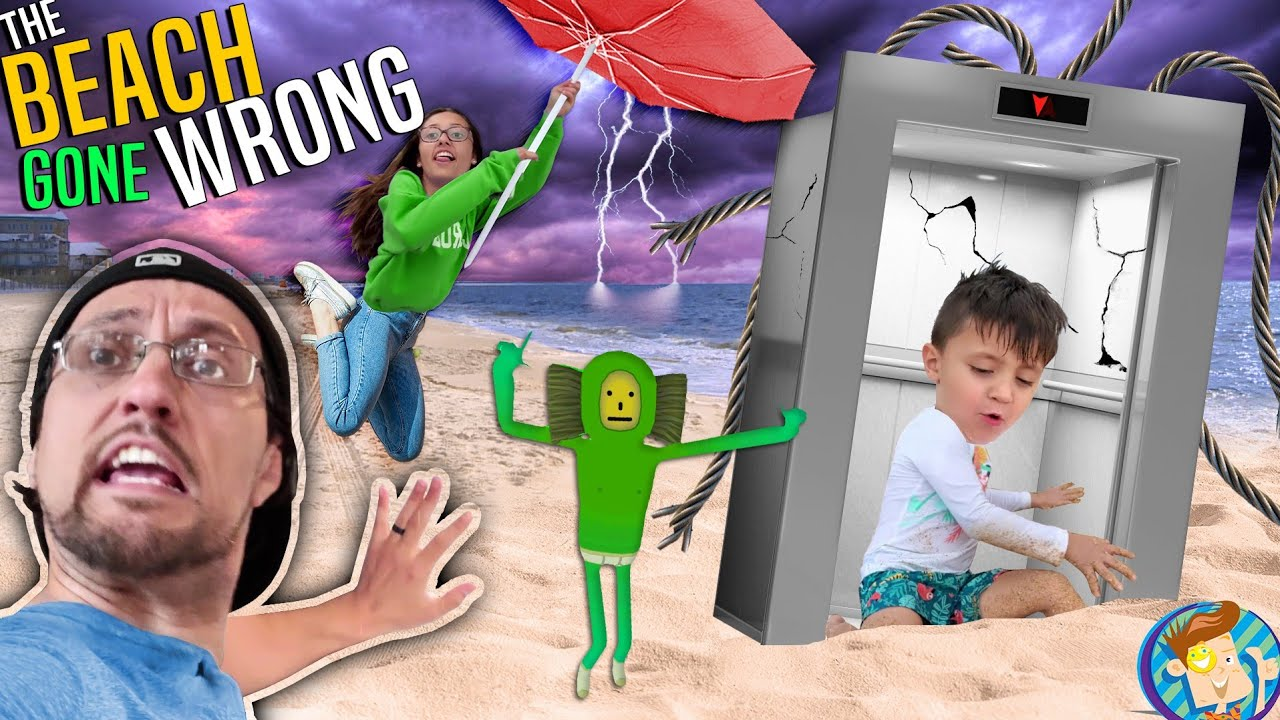 Download Don't use the ELEVATOR @ the BEACH House!  (FV Family Gone Wrong w/ Real Life No No Square)