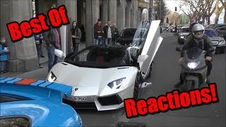 BEST OF Lamborghini Reactions 2017   People Supercar Reactions Compilation!