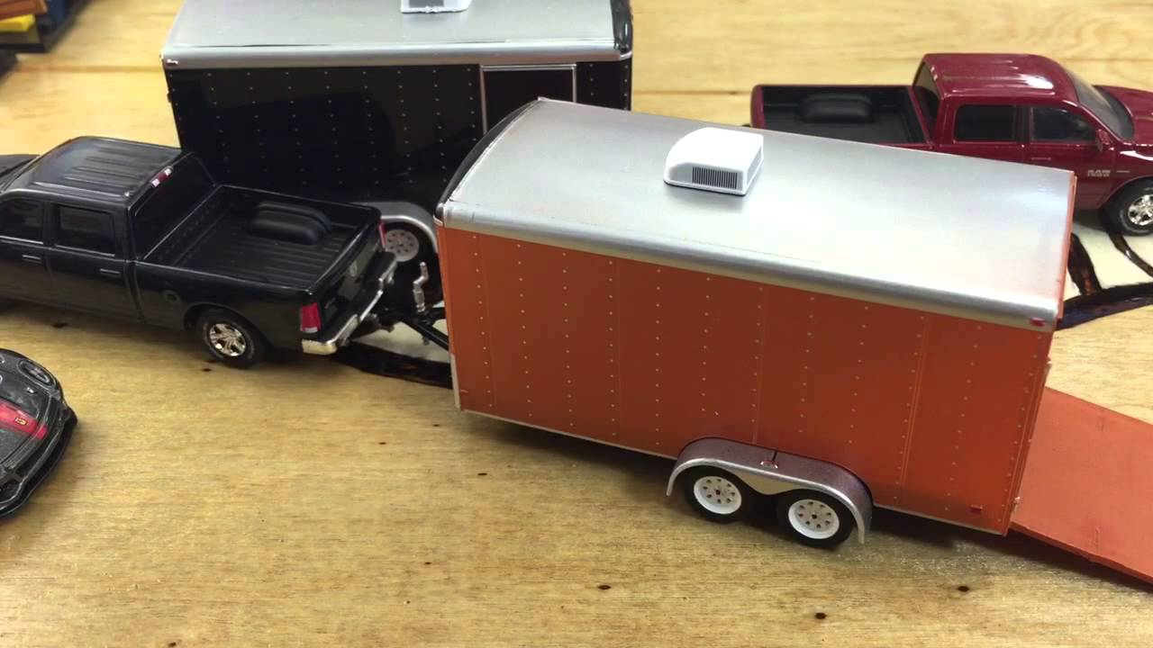 Greenlight Hitch And Tow Series 2 Dodge Ram And Car Hauler Review