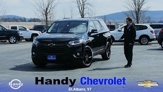 2018 Chevy Traverse Redline Edition