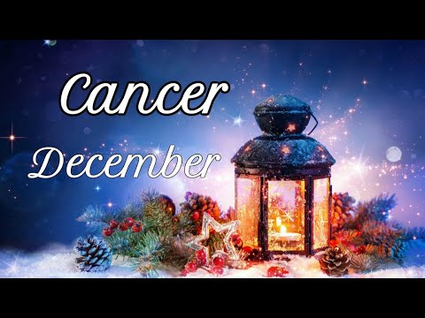 """CANCER """"It's Your Chance To Make The Right Choice"""" DECEMBER 2019 Tarot Reading"""