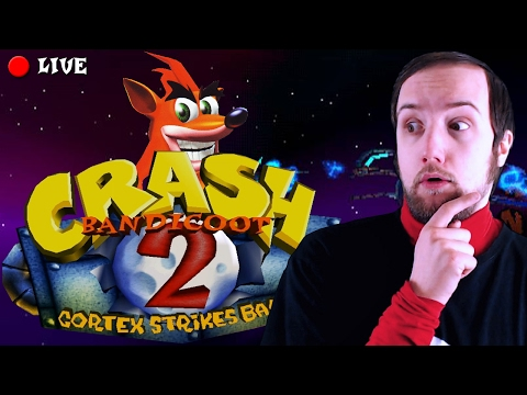 Crash Bandicoot 2 - LIVE - 100%
