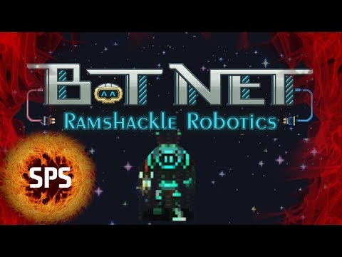 Bot Net Ramshackle Robotics (Robot Programming Turn Based Combat Game) - Demo - Let's Play, Gameplay