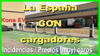 En coche eléctrico a la España con (que ya tiene) cargadores: abusivos