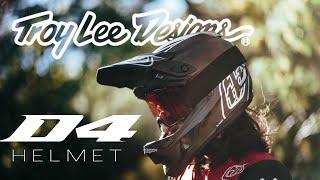 Troy Lee Designs D4 helmet - Yannick Pontal