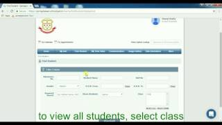 Update Student data in school pad ERP