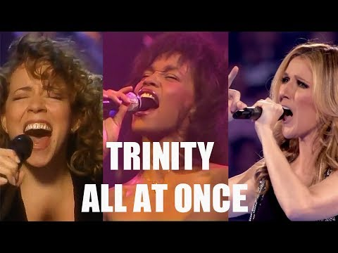 All At Once - Celine Dion and Mariah Carey Whitney Houston Tribute