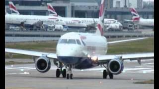 London City Airport 25 Aug 2010