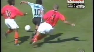 Ariel Ortega # 10 vs Holanda Cuartos WC 1998. By AgustinComps
