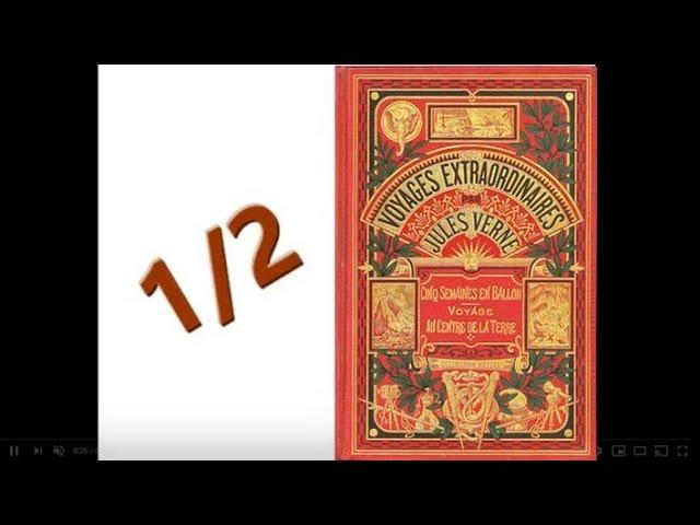 Voyage Au Centre De La Terre De Jules Verne 1 2 Livre Audio Complet Youtube