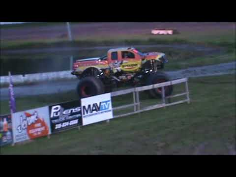All American Monster Truck Tour - Rislone Defender (Donut Competition)