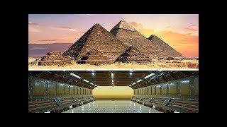 Bilim Adamları İnanamadı... Mısır Piramitlerin Altında Gizli Bir Uzaylı Şehri Bulundu.