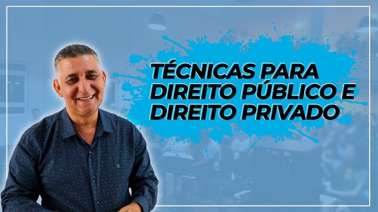 DICAS PARA CONCURSOS - Direito Público e Direito Privado